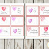 Love Lunch Box Cards, Spouse, Husband, Wife, Adult, Romantic, Printable Lunch Box Notes, Assorted Lunch Box Notes, Instant Download by EyePop Designs