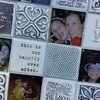X-Large Personalised Memory Mirror by Earthly Mosaics