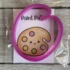 Paint pallet cookie cutter  by The Cookie Cutter Co