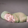 Curly mohair bonnet and wrap set-olive, newborn photo prop by Lavender Blossoms
