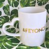 Feyonce engagement gift mug with gold wedding bridal gift  by Love & Sparkles