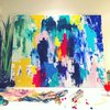 Bright colour party by Resh's Art