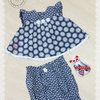 Baby Dress and pants for 3 months old  by Free Kittens