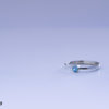 Handmade Blue Topaz Stack Ring by Van Nierop Juweliers / Jewellers