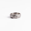 Faceted and Irregular patterns - Sterling Silver ring  / TOURNER AUTOUR DU POT by Morgane & The Queen