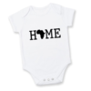 Africa HOME Baby grow/ Homegrown / Africa onesie / Local is Lekker! / Africa Continent / Babyshower gift / Baby gift by Little Lion Cub Studio