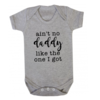 Ain't no DADDY like the one I got Baby Onesie/ Father's Day Baby Outfit/Father'ss Day Gift/ Vadersdag / First Father's Day by Little Lion Cub Studio