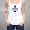 Anchor Bridesmaid hen party tank top  by Polkadot Box