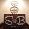Anniversary String Art by Heartstrings and Creative Things