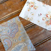 Tan decorative bunting by Sew & Such