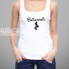 Custom Mermaid Bridesmaid tank top by Polkadot Box