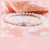 High quality Freshwater Pearl bracelet with a sterling silver stardust ball clasp by Van Nierop Juweliers / Jewellers