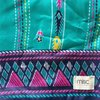 Turquoise Aztec Patchwork Sari Snood by Misc. Clothing