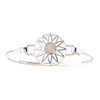 Sterling Silver BradDaShey bangle with interchangeable face piece June by Havilah Designer Jewellers