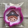 Captain PIrate cookie cutter by The Cookie Cutter Co
