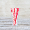 Straws - 50 Pack- Red Stars & Polka-Dots by Besotted