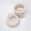 Light Wooden Ring Box by Papermoon