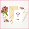 Boho Set of 5 Occasional Note Cards by The Art of Creativity Studio