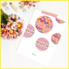 Boho Set of 4 Posters/Prints/Wall Art by The Art of Creativity Studio