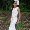Ivory Lace Bridal Gown by Eli Ball - made in Africa