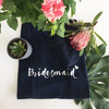 Bridesmaid Short sleeve T by Love & Sparkles