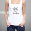 Brighter than Rudolph Christmas Tank Top by Polkadot Box
