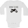 Born to ride baby grow by BTSN Design (Pty)LTD