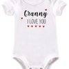 Granny, I love you baby grow by BTSN Design (Pty)LTD
