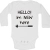 Hello, I'm new here baby grow by BTSN Design (Pty)LTD