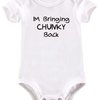 I'm bringing chunky back baby grow by BTSN Design (Pty)LTD