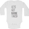 Let's get Boobie faced baby grow by BTSN Design (Pty)LTD