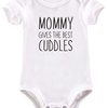 Mommy gives the best cuddles baby grow by BTSN Design (Pty)LTD