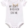 My Aunty in Heaven sent me baby grow by BTSN Design (Pty)LTD
