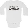 My Aunty is Awesome baby grow by BTSN Design (Pty)LTD