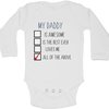 My Daddy is all the above baby grow by BTSN Design (Pty)LTD