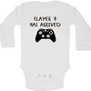 Player 3 has arrived baby grow by BTSN Design (Pty)LTD