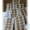 Wooden Button Packs X 10 (M0064) by Miss Magpie