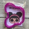 LOL Doll Glitter Hoops cookie cutter by The Cookie Cutter Co