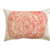 Watercolour Cabbage cushion cover by Touchee Feelee