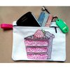 Embroidered zipper cake purse by Thats so ME!