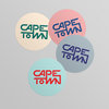 Cape Town License Disc Stickers by Pleekō