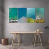 """Countours"" Aerial Photography Printed Canvas set by Afterimage"