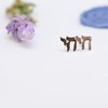 Sterling Silver Chai/Life Studs by Elloise Jewelry