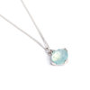 Blue Chalcedony Pendant by Botanica Hand Crafted Jewellery.