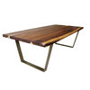 Trapezoid Dining Table by Kurve Designs