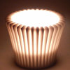 Cookie cup light by Joan Shaer Ceramics