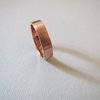 Copper Mens Wedding Band by Liwo Design