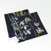 Cotton Napkin set ~ Botanical Greenery by CoralBloom Studio