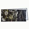 Cotton Table Runner ~ Botanical Greenery by CoralBloom Studio