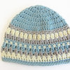 Handmade crochet Galilee Hat by Croshka Designs